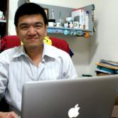 Jose Chong sitting in his office